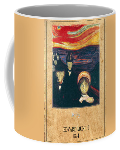 Munch Coffee Mug featuring the photograph Edvard Munch 2 by Andrew Fare