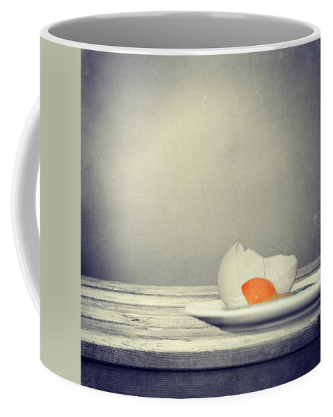 Egg Coffee Mug featuring the photograph Egg by Heike Hultsch