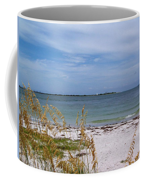 Tampa Coffee Mug featuring the photograph Egmont Key by Katie Beougher
