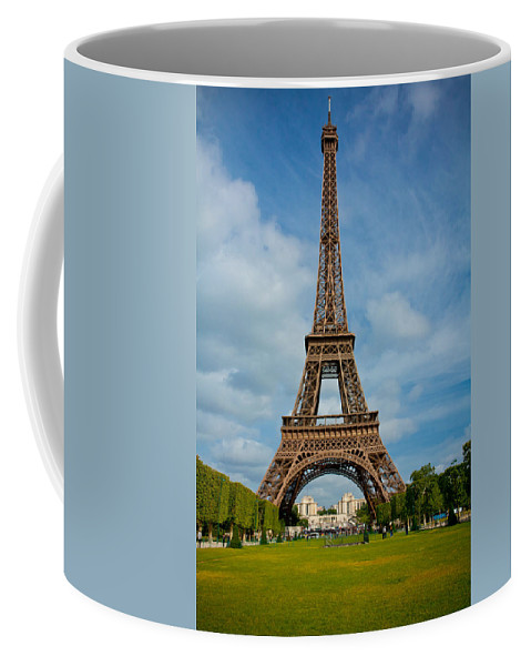 Eiffel Tower Coffee Mug featuring the photograph Eiffel Tower by Anthony Doudt