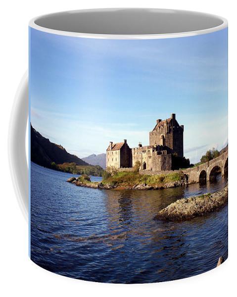 Clan Macrae Coffee Mug featuring the photograph Eilean Donan Castle Kintail Scotland by Rodger Insh
