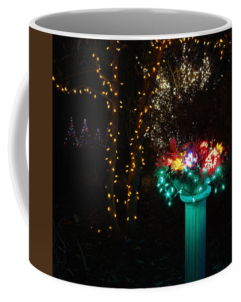 Fine Art Coffee Mug featuring the photograph Electric Still Life by Rodney Lee Williams