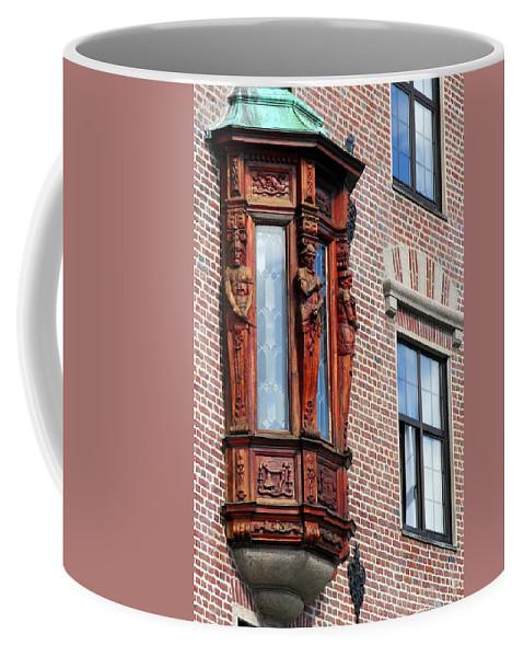 Bergen Coffee Mug featuring the photograph Elegant Window In Bergen by Laurel Talabere