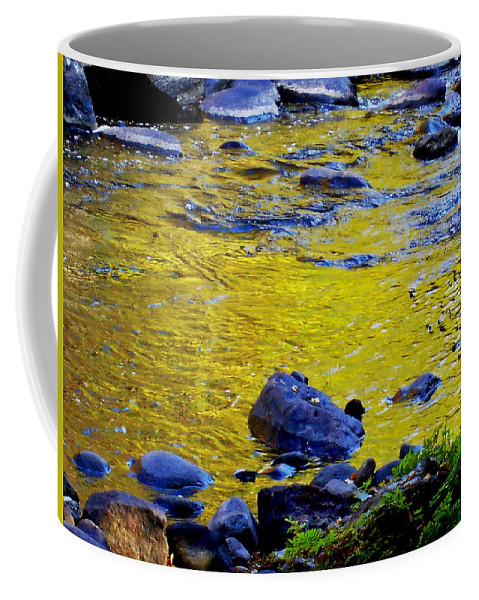 Rivers Coffee Mug featuring the photograph Emerald Water by Rodney Lee Williams