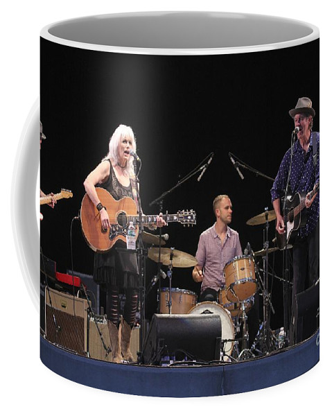 Rodney Crowell Coffee Mug featuring the photograph Emmylou Harris by Concert Photos