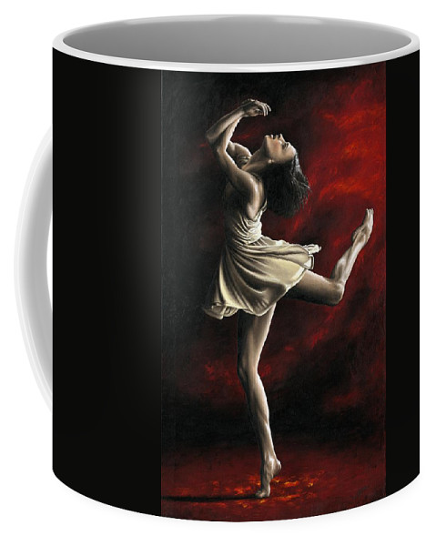 Dance Coffee Mug featuring the painting Emotional Awakening by Richard Young