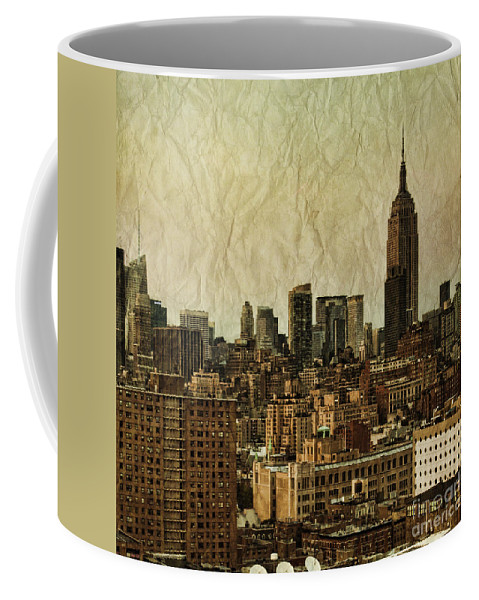 New Coffee Mug featuring the photograph Empire Stories by Andrew Paranavitana