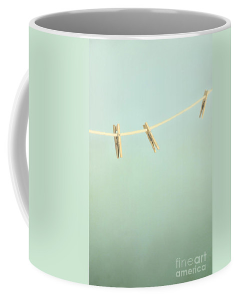 Nothing Coffee Mug featuring the photograph Empty Line by Margie Hurwich