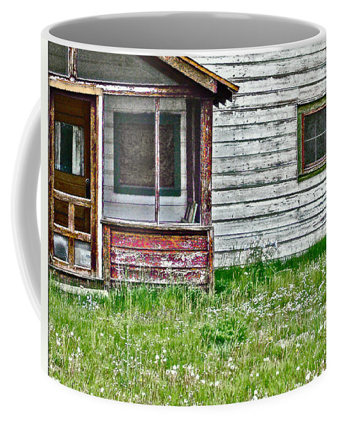 House Coffee Mug featuring the photograph Empty Nest by John Anderson