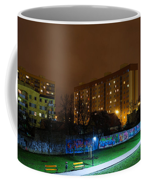 Empty Night Coffee Mug featuring the photograph Empty Night by Tgchan