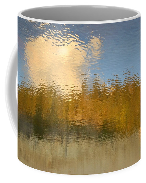 Water Coffee Mug featuring the photograph End Of Summer by Donna Blackhall