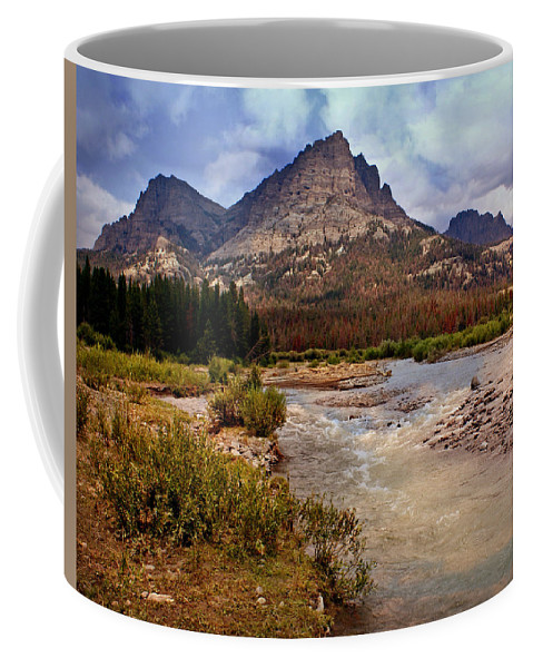 Mountains Coffee Mug featuring the photograph End Of The Road Mountain by Marty Koch