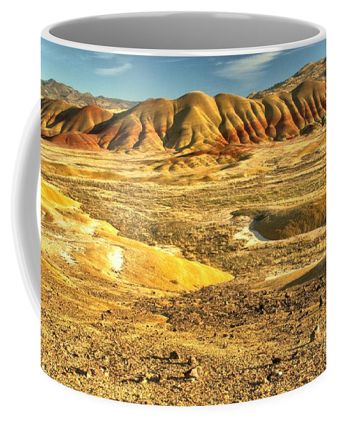 Painted Hills Coffee Mug featuring the photograph Endless Painted Hills by Adam Jewell
