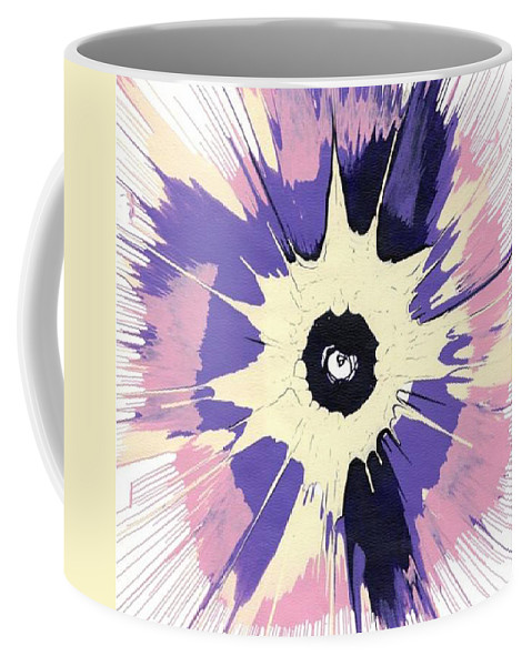 Energy Coffee Mug featuring the painting Energy Iv by Luz Elena Aponte
