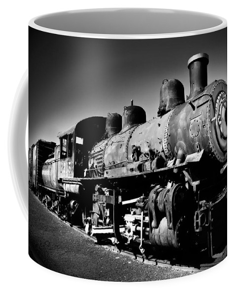 Train Coffee Mug featuring the photograph Engine 1215 by Mick Burkey