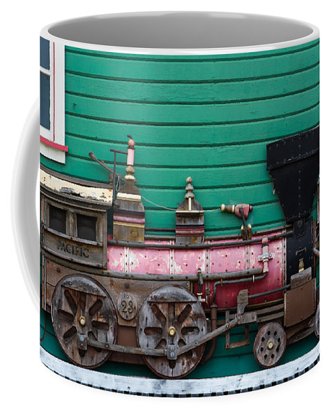 Train Photographs Coffee Mug featuring the photograph Engine Number 23 Unframed by Tikvah's Hope