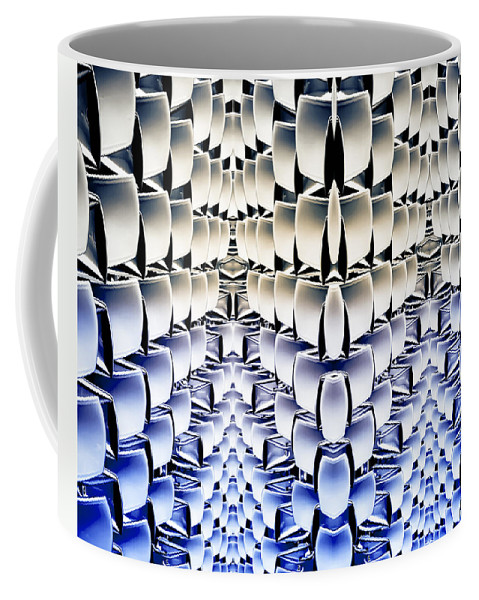 Matrix Coffee Mug featuring the photograph Lost In The Matrix by Wayne Sherriff