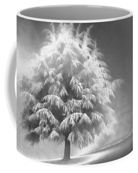 Beauty Coffee Mug featuring the photograph Enlightened Tree by Don Schwartz