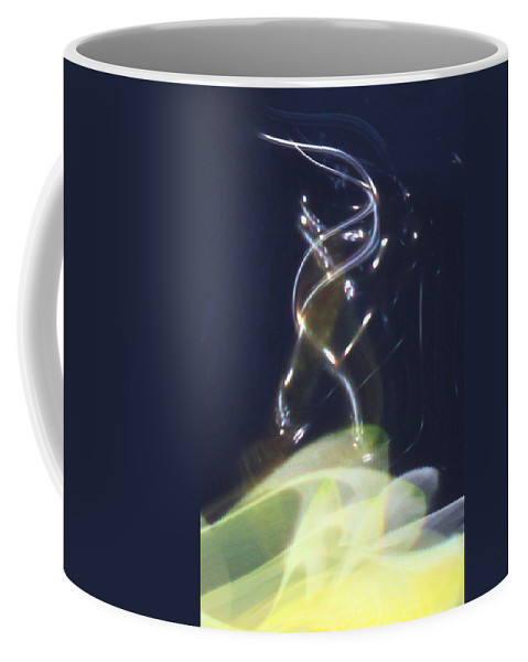Abstract Coffee Mug featuring the digital art Enlightenment by Richard Thomas