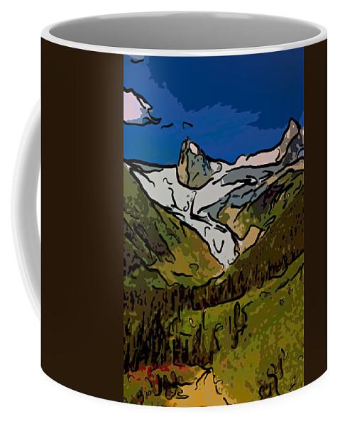 Mountains Coffee Mug featuring the photograph Entering The Bugaboos 2 by Steve Harrington