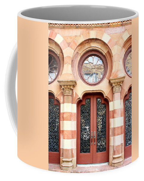 Classical Architecture Coffee Mug featuring the photograph Entry Charleston by William Dey