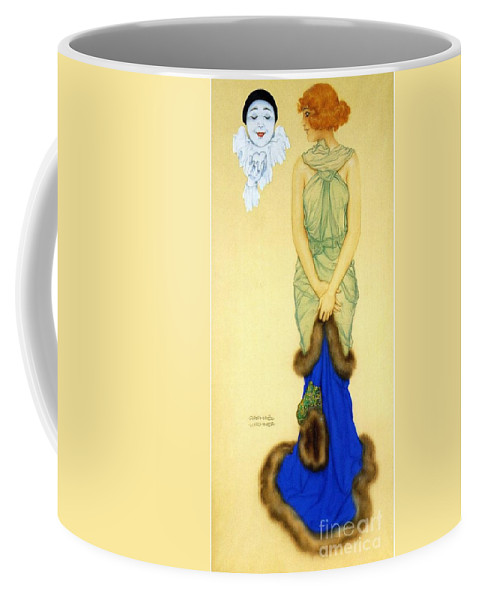 Pd Coffee Mug featuring the painting Envy by Pg Reproductions