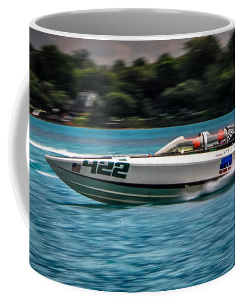 Erie Monster Coffee Mug featuring the photograph Erie Monster by Grace Grogan