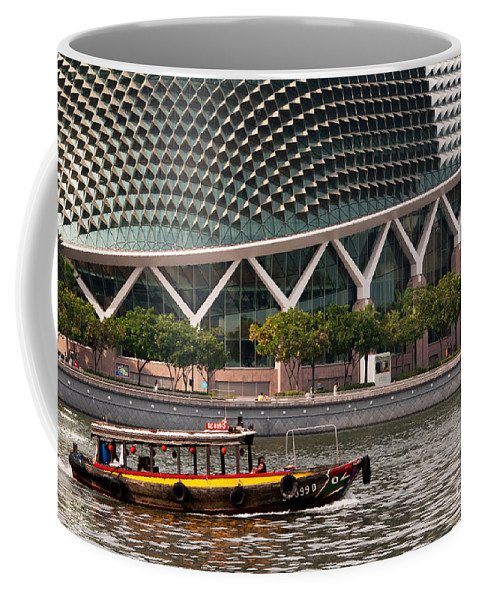 Singapore Coffee Mug featuring the photograph Esplanade Theatres 03 by Rick Piper Photography