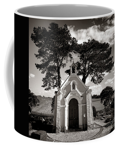 Chapel Coffee Mug featuring the photograph Eternal Rest by Olivier Le Queinec