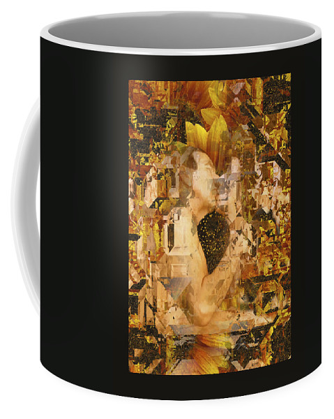 Nude Coffee Mug featuring the photograph Eternally Yours by Kurt Van Wagner