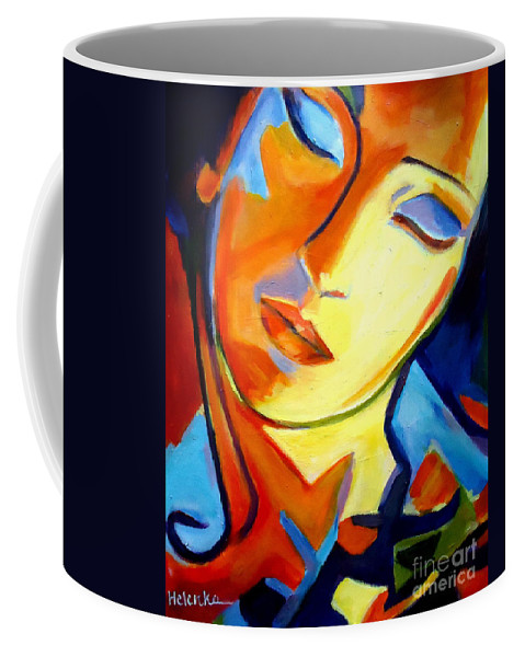 Art Coffee Mug featuring the painting Eternity by Helena Wierzbicki