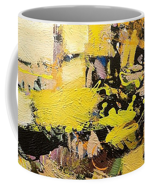 Landscape Coffee Mug featuring the painting Euclid by Allan P Friedlander