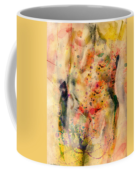 Michelangelo Coffee Mug featuring the digital art eve by Mark Ashkenazi