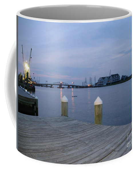 Evening Light Coffee Mug featuring the photograph Evening Light At Chincoteague Sound by Christiane Schulze Art And Photography