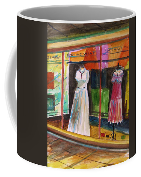 Evening Wear Coffee Mug featuring the painting Evening Wear by John Williams
