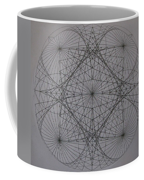 Event Horizon Coffee Mug featuring the digital art Event Horizon by Jason Padgett