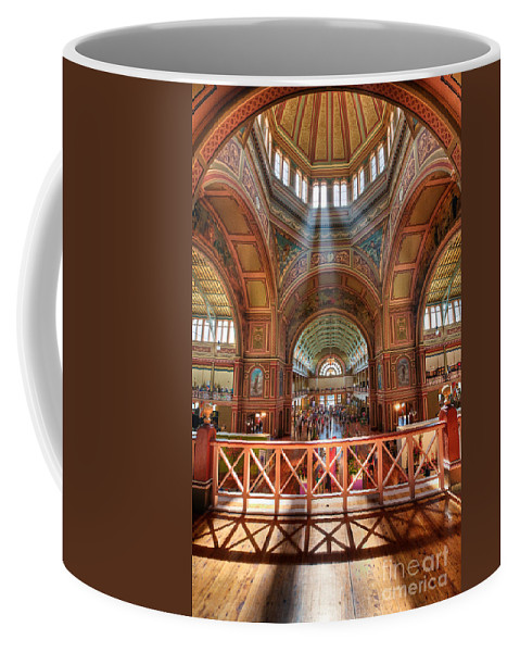 Royal Coffee Mug featuring the photograph Exhibition Splendour II by Ray Warren