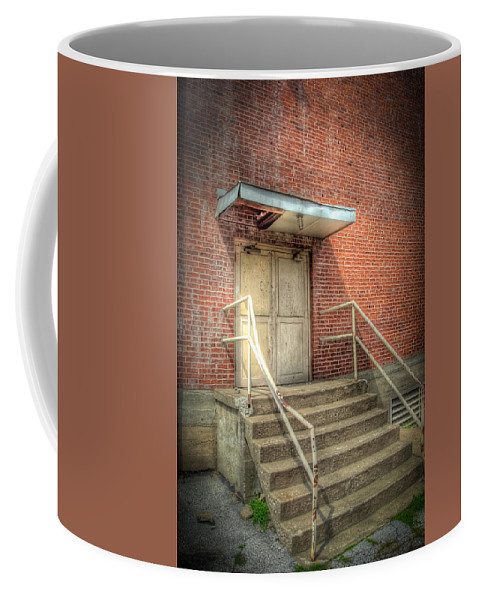 Englewood Coffee Mug featuring the photograph Exit 4525 by Timothy Bischoff