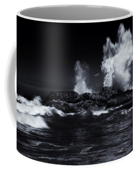 Explosion Coffee Mug featuring the photograph Explosion by Mike Dawson