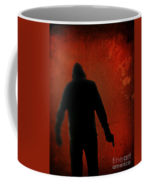 Danger Coffee Mug featuring the photograph Explosive by Edward Fielding