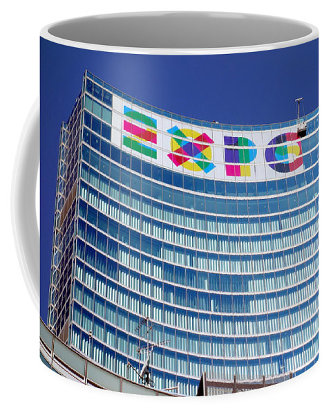15 Coffee Mug featuring the photograph Expo Sign by Valentino Visentini