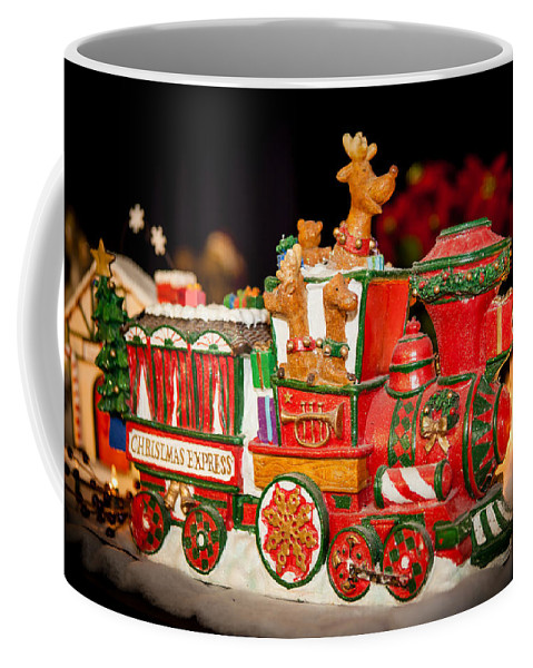 2012 Coffee Mug featuring the photograph Express Train by Melinda Ledsome