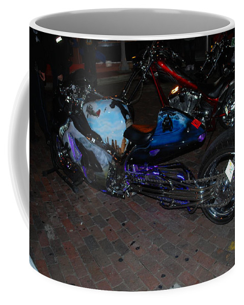 Downtown Ft.myers Coffee Mug featuring the photograph Extended Mt.cycle by Robert Floyd