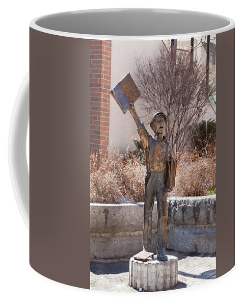 Extra Coffee Mug featuring the photograph Extra Extra by Fran Riley