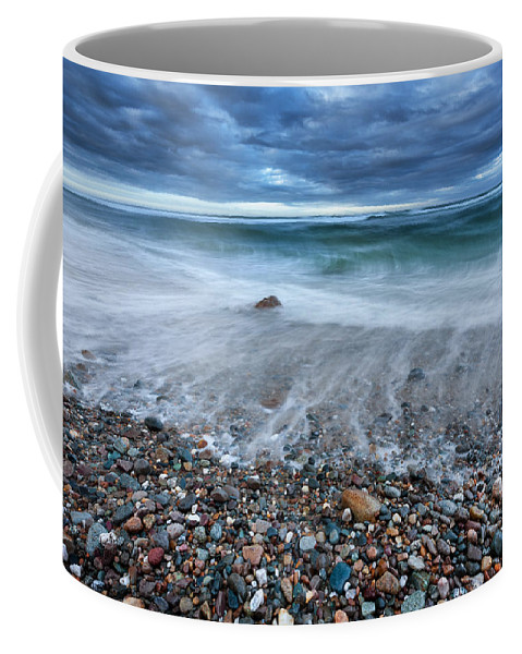 Atlantic Coffee Mug featuring the photograph Eye Of The Storm by Bill Wakeley