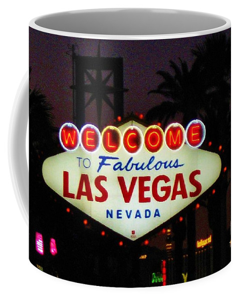 Las Vegas Coffee Mug featuring the photograph Fabulous Las Vegas by John Malone