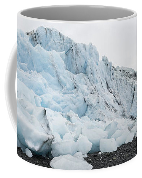 Bryn Mawr Glacier Coffee Mug featuring the photograph Face Of Bryn Mawr Glacier by Ted Raynor