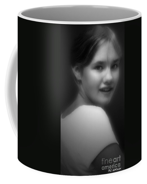 Black And White Coffee Mug featuring the photograph Face Of The War by RC DeWinter