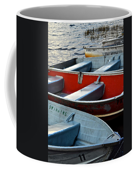 Boats Coffee Mug featuring the photograph Failure To Launch by Frozen in Time Fine Art Photography