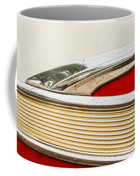 Ford Coffee Mug featuring the photograph Fairlane Detail by Jon Woodhams